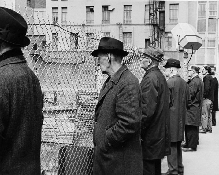 Men Watching Construction - Rochester, NY