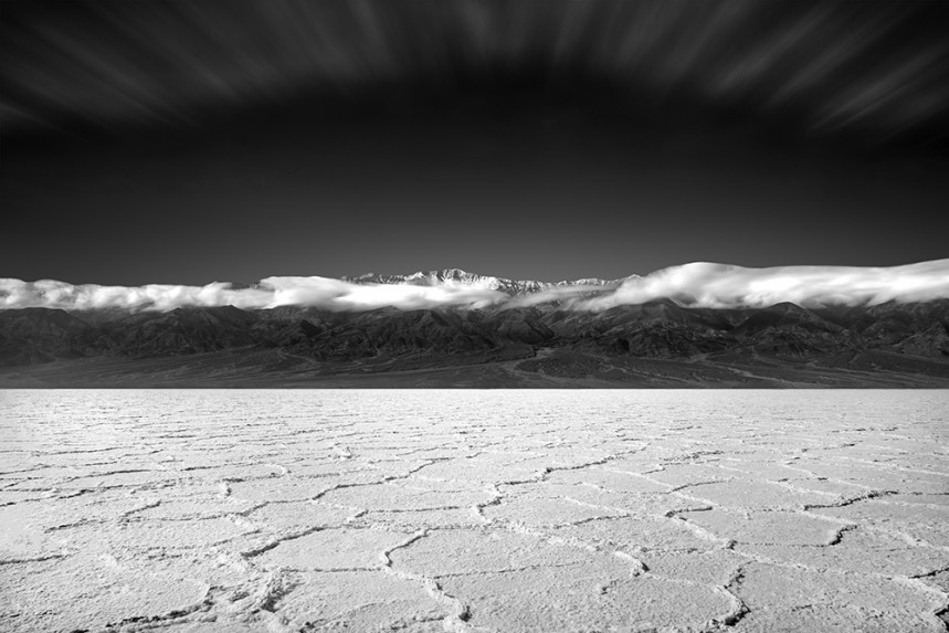 Snow Above the Salt Flats 2