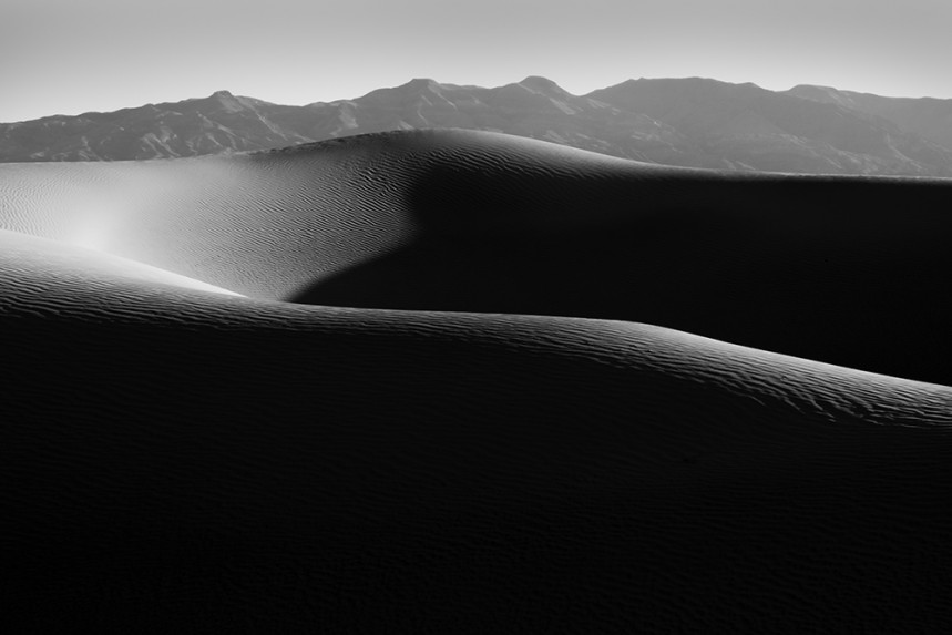 Death Valley Dune and Mountain No 3