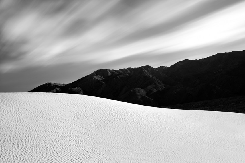 Death Valley Dune and Mountain No 1