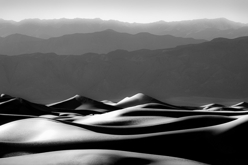 Death Valley Dune and Mountain No 2