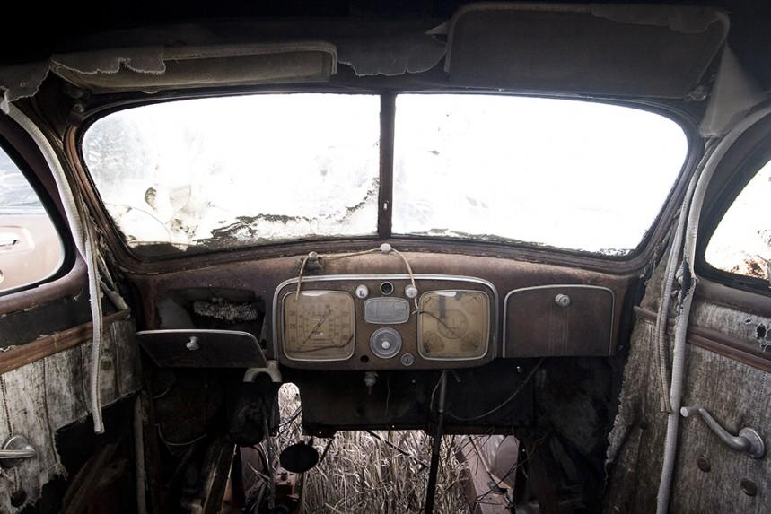 Old Car Interior - Eye