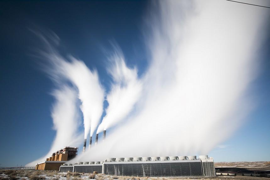 Jim Bridger Power Plant - Eye