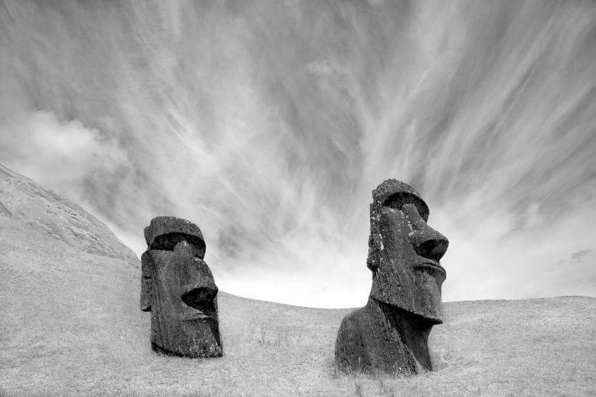 Moai at Rano Raraku No 1