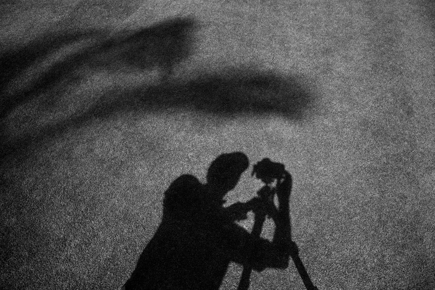 Self-Shadow on the Grass, Kihei