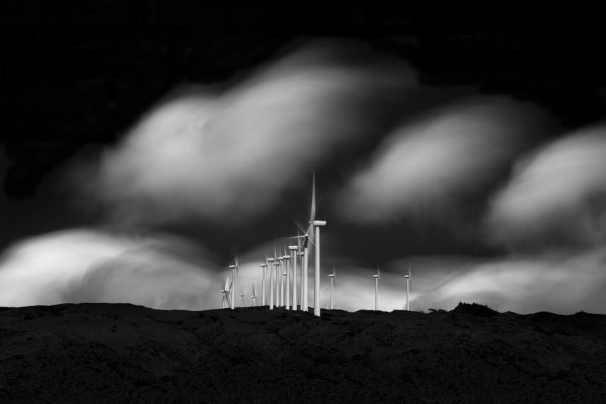 Windmills on Maui No 3
