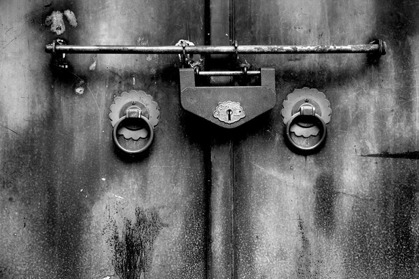 Old Japanese Lock