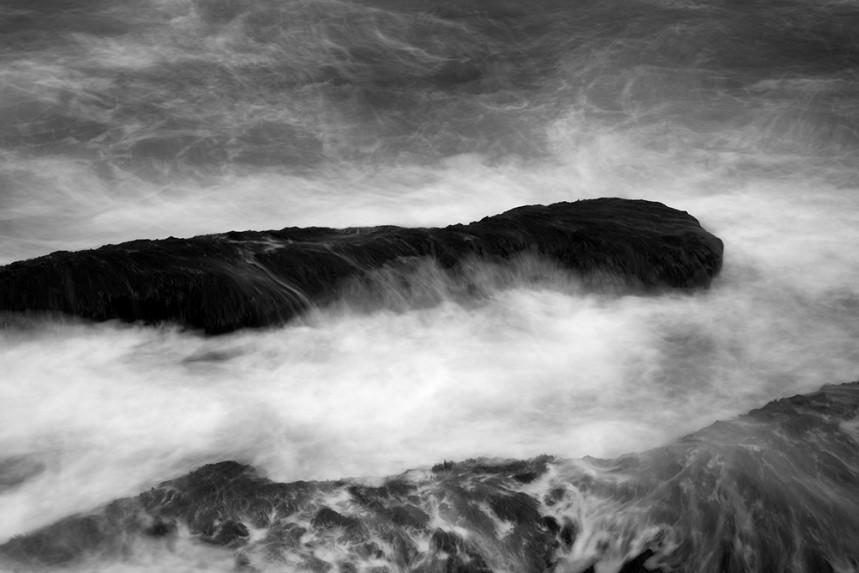 La Jolla Rock and Water Detail No 3