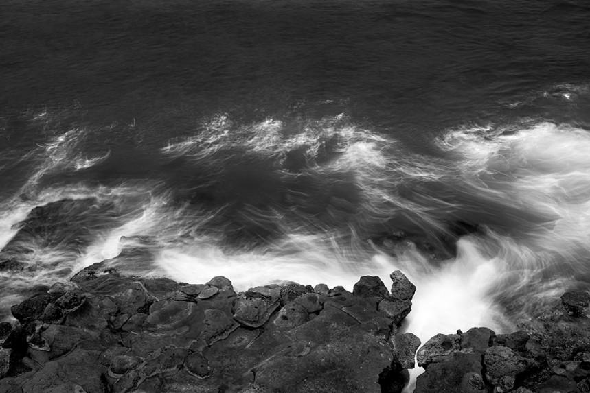 La Jolla Rock and Water Detail No 8
