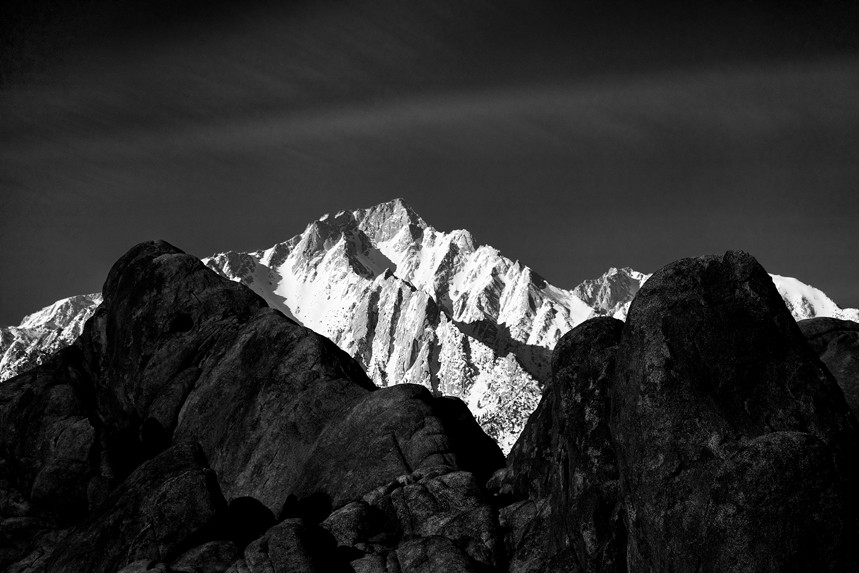 The Sierra from Alabama Hills