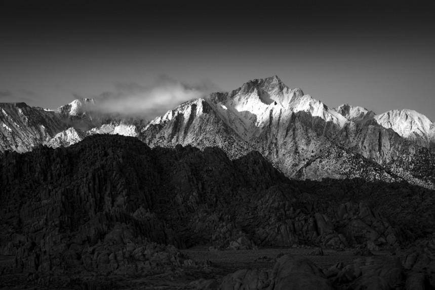 Lone Pine Peak at Dawn