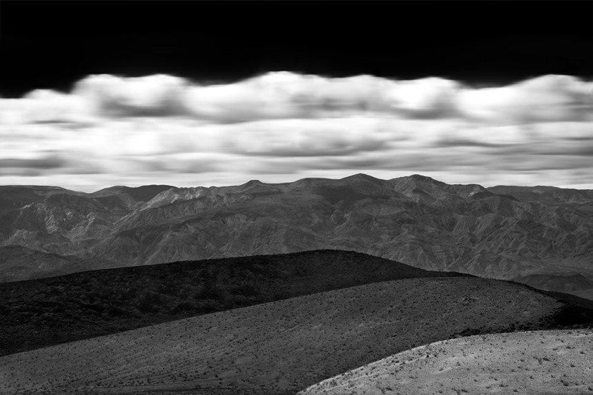Three Hills in the Panamint Valley