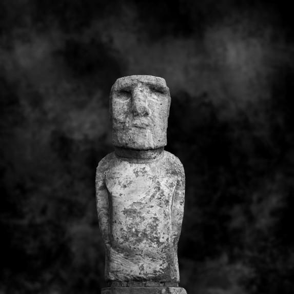 Moai Sitting for Portrait No 1
