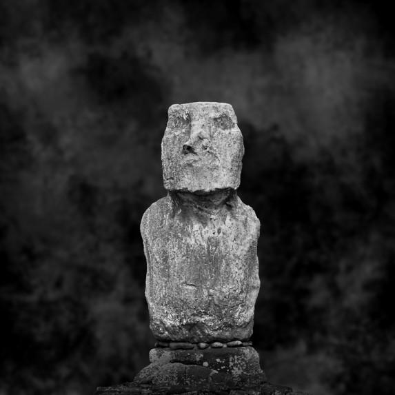 Moai Sitting for Portrait No 11