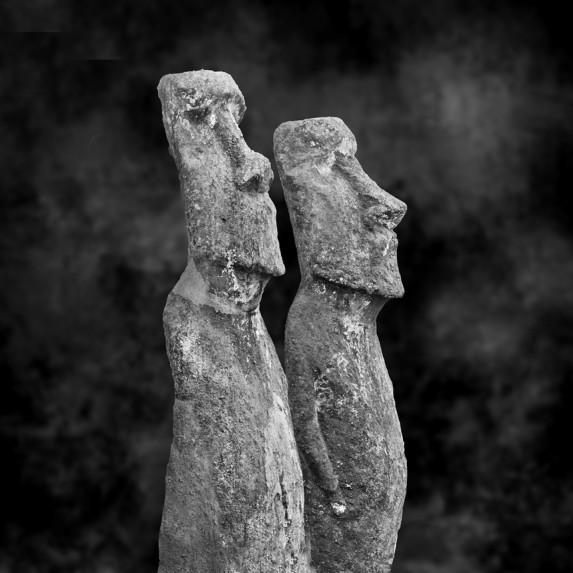 Moai Sitting for Portrait No 12