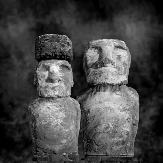 Moai Sitting for Portrait No 13