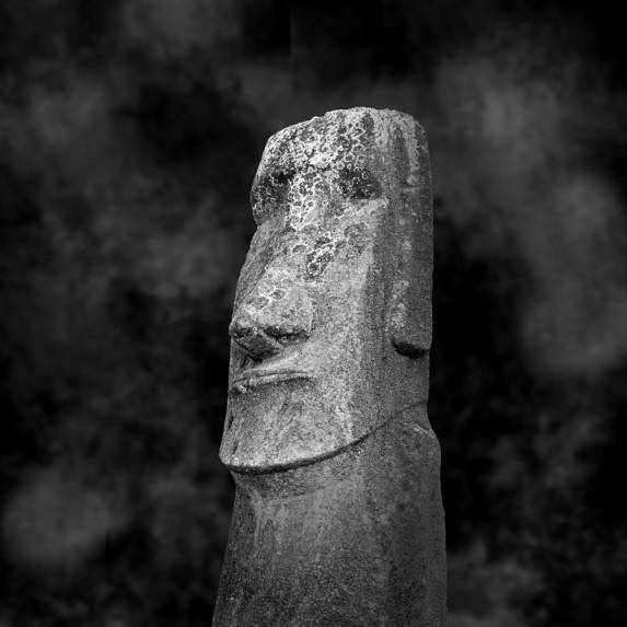 Moai Sitting for Portrait No 14