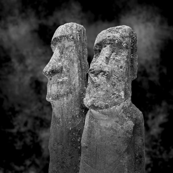 Moai Sitting for Portrait No 15