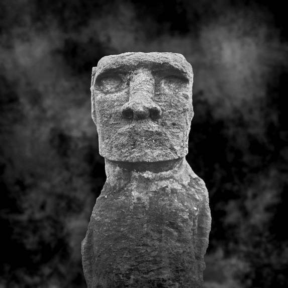 Moai Sitting for Portrait No 16