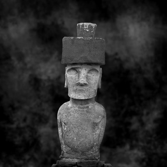 Moai Sitting for Portrait No 17