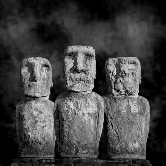 Moai Sitting for Portrait No 18