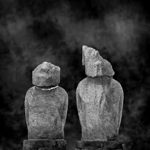 Moai Sitting for Portrait No 19