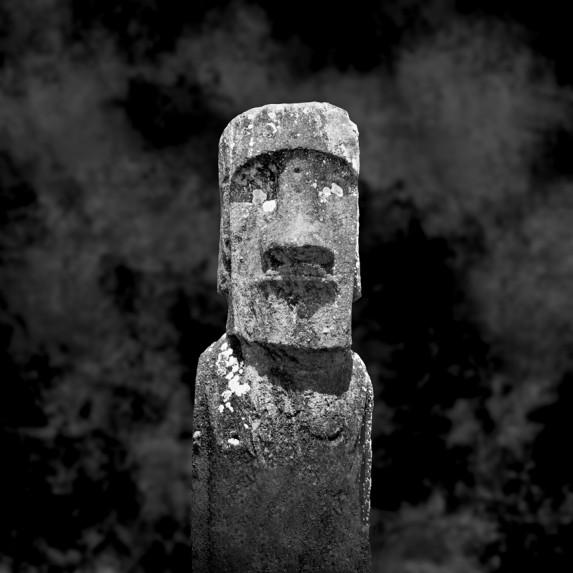 Moai Sitting for Portrait No 20
