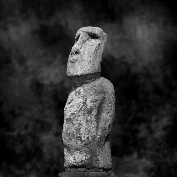 Moai Sitting for Portrait No 21