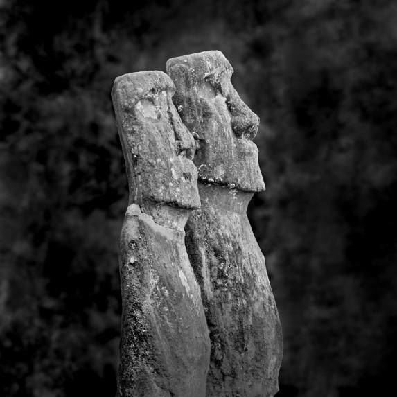 Moai Sitting for Portrait No 22