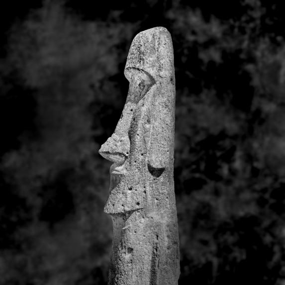 Moai Sitting for Portrait No 23