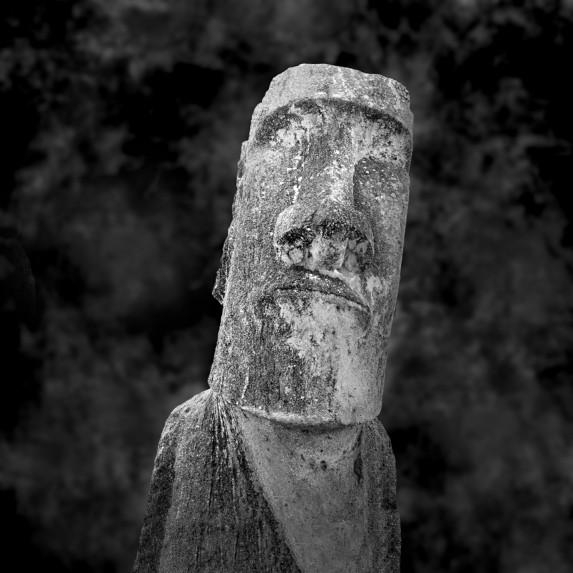 Moai Sitting for Portrait No 24