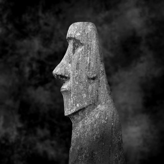 Moai Sitting for Portrait No 25