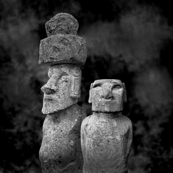 Moai Sitting for Portrait No 26