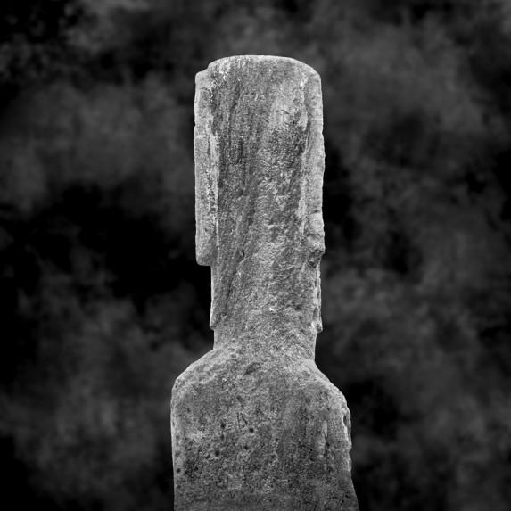 Moai Sitting for Portrait No 27