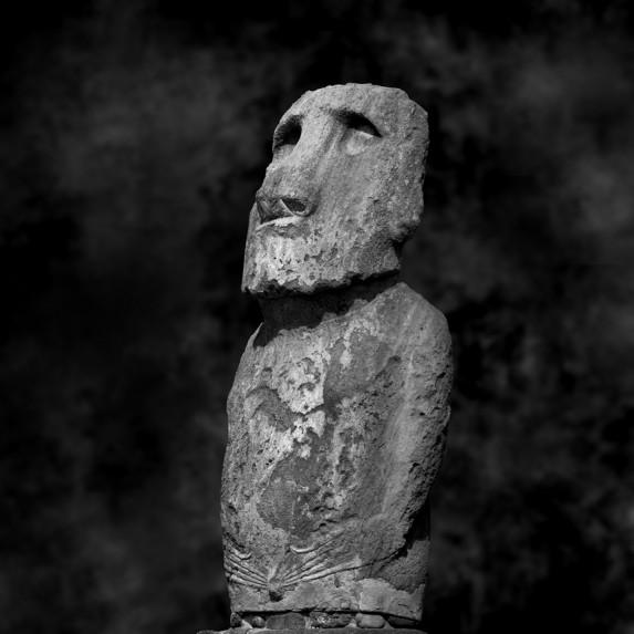 Moai Sitting for Portrait No 28