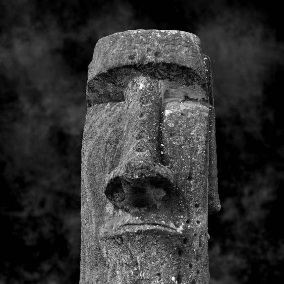 Moai Sitting for Portrait No 29