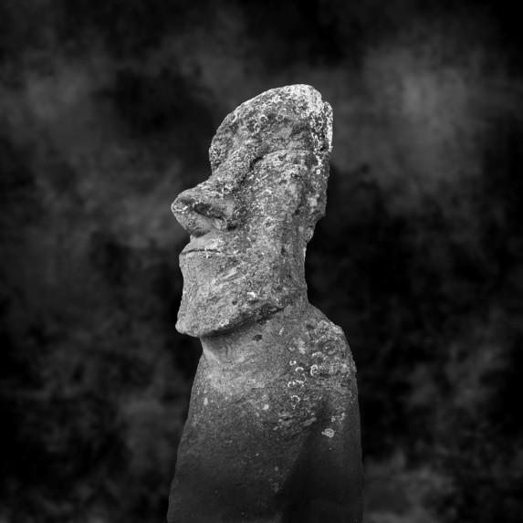Moai Sitting for Portrait No 3