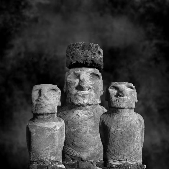 Moai Sitting for Portrait No 30
