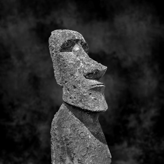 Moai Sitting for Portrait No 31
