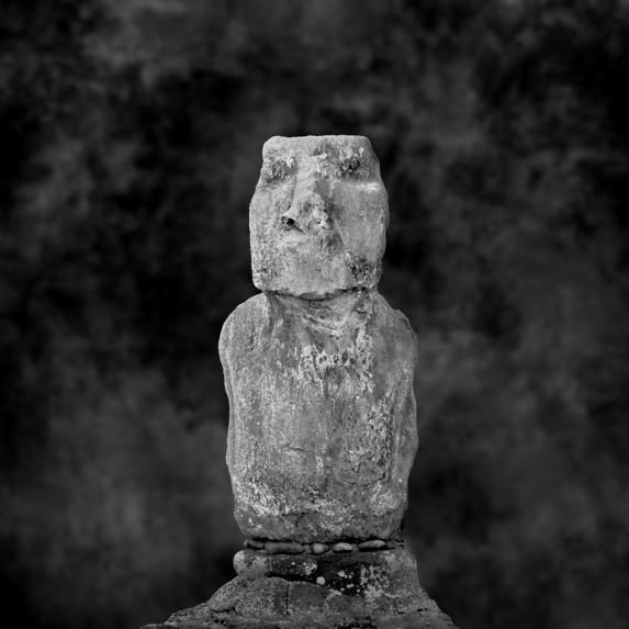 Moai Sitting for Portrait No 32