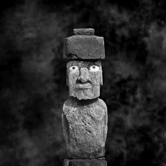 Moai Sitting for Portrait No 33