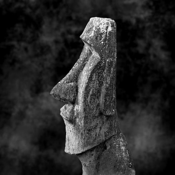 Moai Sitting for Portrait No 34