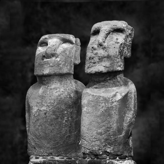 Moai Sitting for Portrait No 35