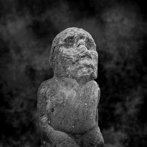 Moai Sitting for Portrait No 37