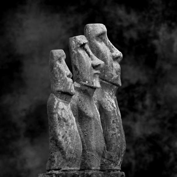 Moai Sitting for Portrait No 38