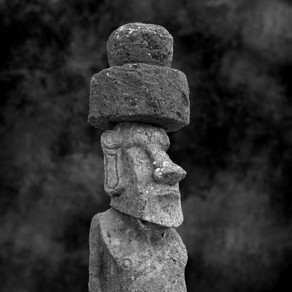 Moai Sitting for Portrait No 39