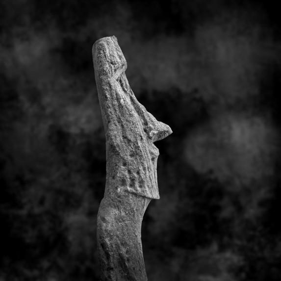 Moai Sitting for Portrait No 4