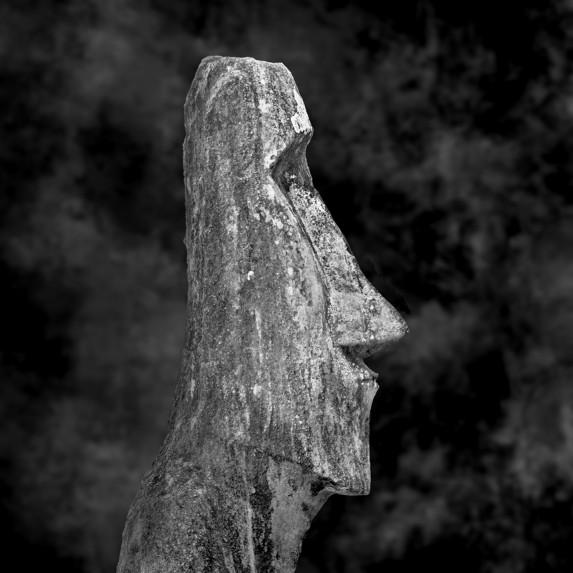 Moai Sitting for Portrait No 40