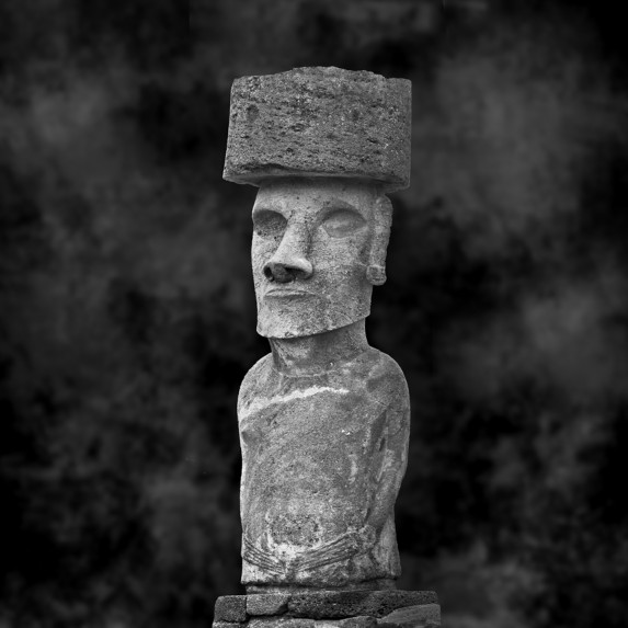 Moai Sitting for Portrait No 5