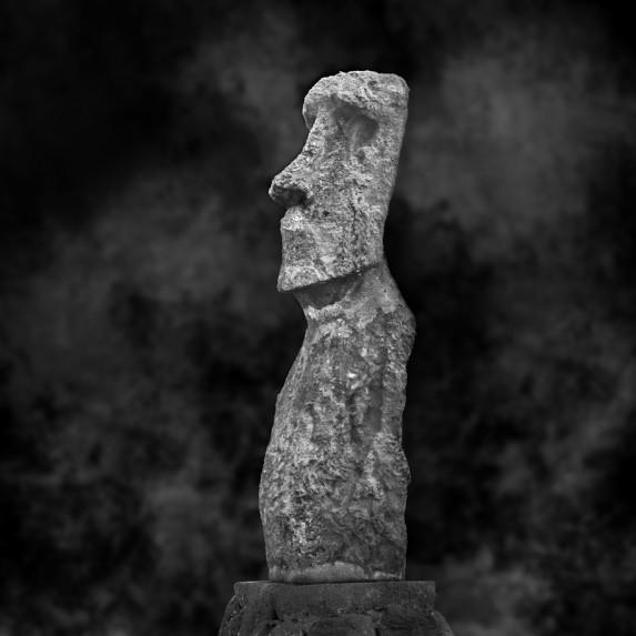 Moai Sitting for Portrait No 6